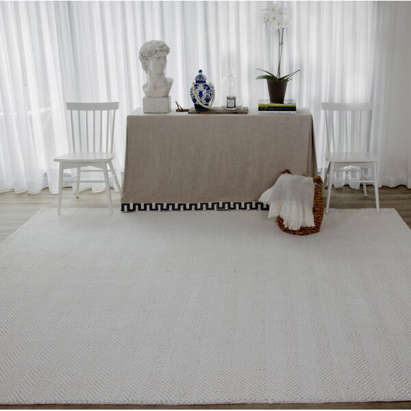 Ledgebrook Washington Hand-Woven Wool Ivory Area Rug by Erin Gates by Momeni