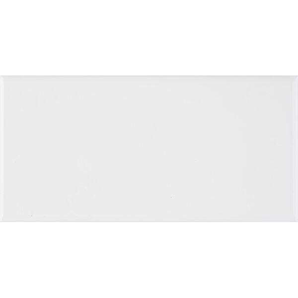 6 x 3 Ceramic Bullnose Tile Trim in White by MSI