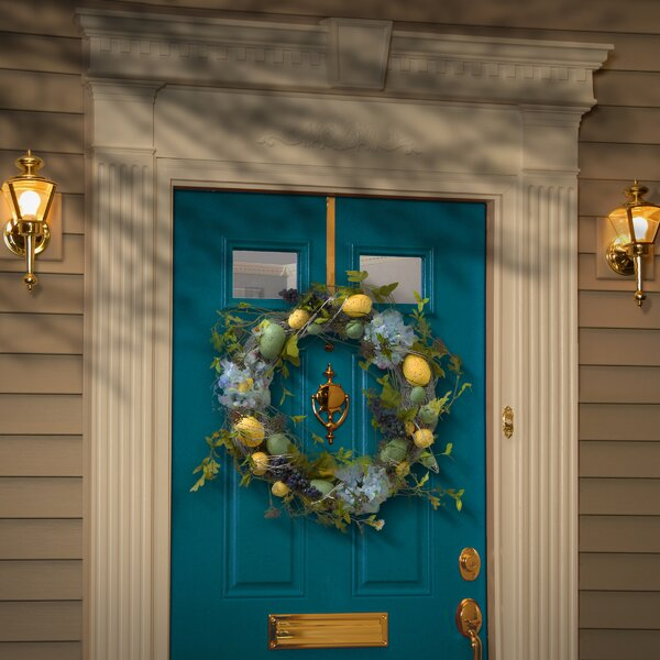 18 Easter Egg Wreaths And Hydrangeas By National Tree Co.