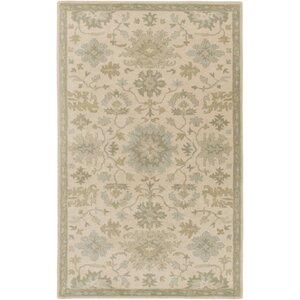 Willard Hand-Woven Wool Beige/...