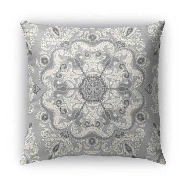 Naples Cotton Indoor/Outdoor Floral Throw Pillow