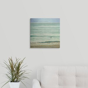 'Ocean Serenity Inspiration' by Brookview Studio Graphic Art on Wrapped Canvas by Great Big Canvas