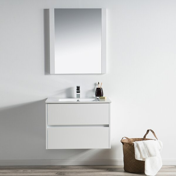 Oquendo 30 Single Bathroom Vanity Set with Mirror by Orren Ellis
