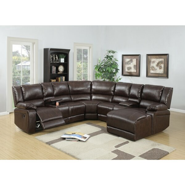 Chaim Bonded Reclining Sectional by Red Barrel Studio