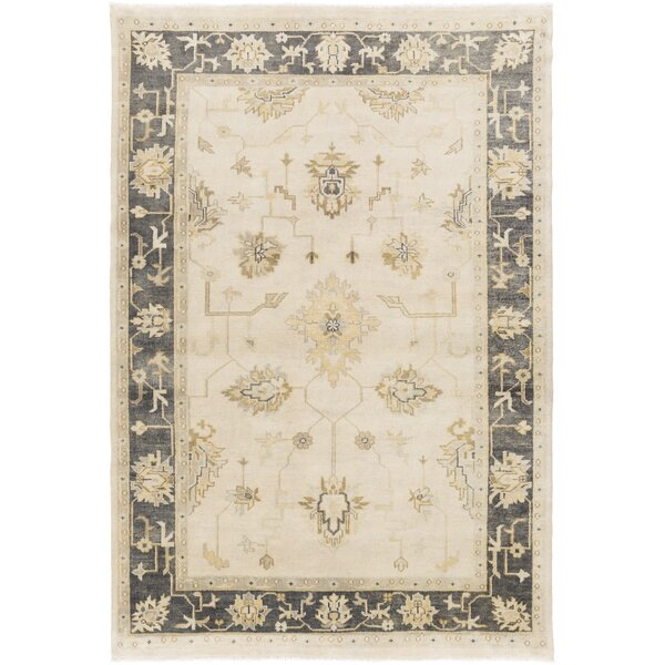 Sandy Beige/Olive Rug by Darby Home Co