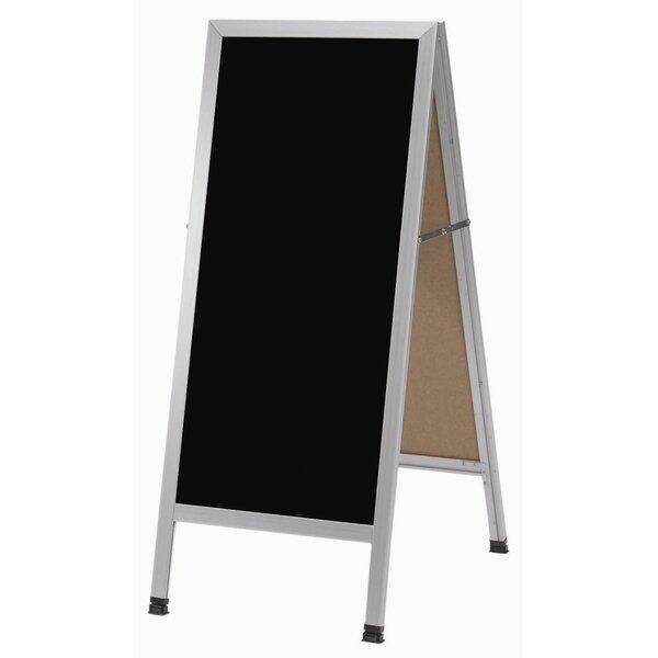 A-Frame Sidewalk Free Standing Chalkboard by AARCO