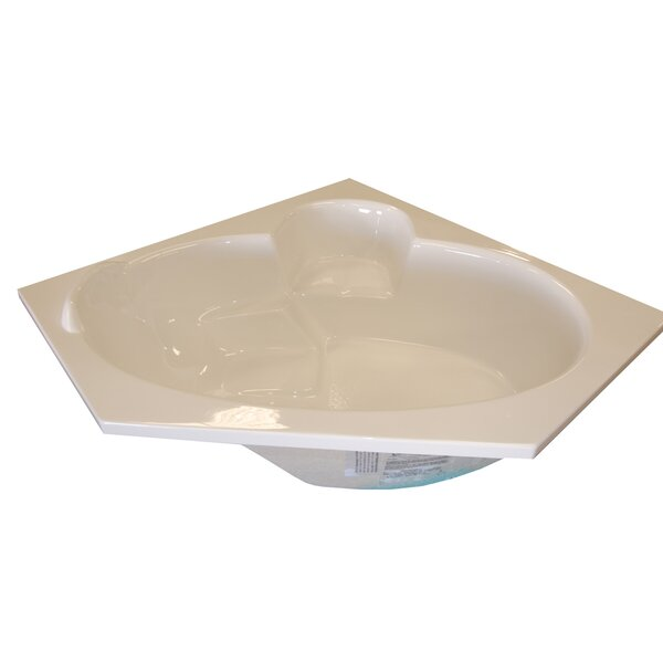 60 x 60 Corner Salon Spa Soaking Tub by American Acrylic