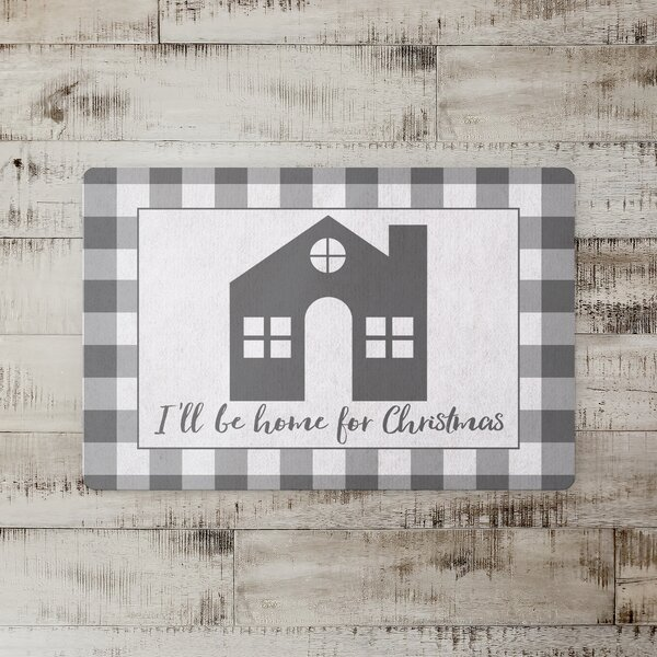 Desrosiers Home for Christmas Kitchen Mat
