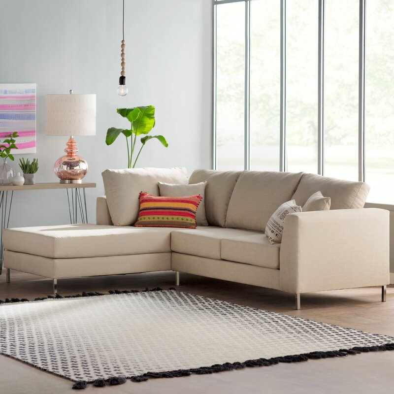 Best Athena Sectional By Bungalow Rose Shopping For