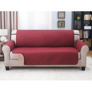 Home Solutions Box Cushion Sofa Slipcover