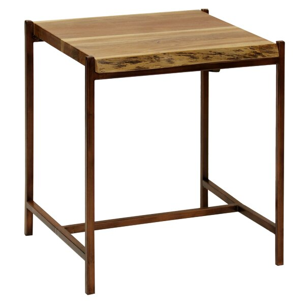 Dule End Table by Williston Forge