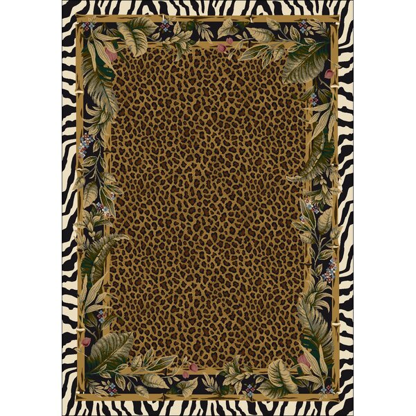 Signature Jungle Safari Skins Area Rug by Milliken