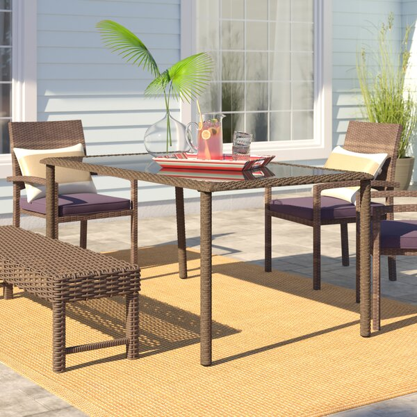 Edwards Dining Table by Highland Dunes