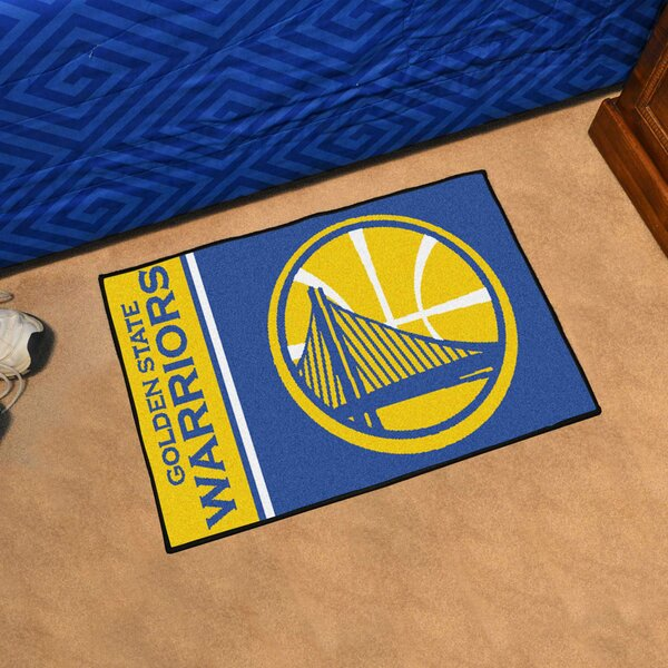 NBA Golden State Warriors Starter Mat by FANMATS