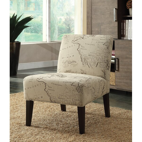 Sarramea Upholstered Slipper Chair by Charlton Home