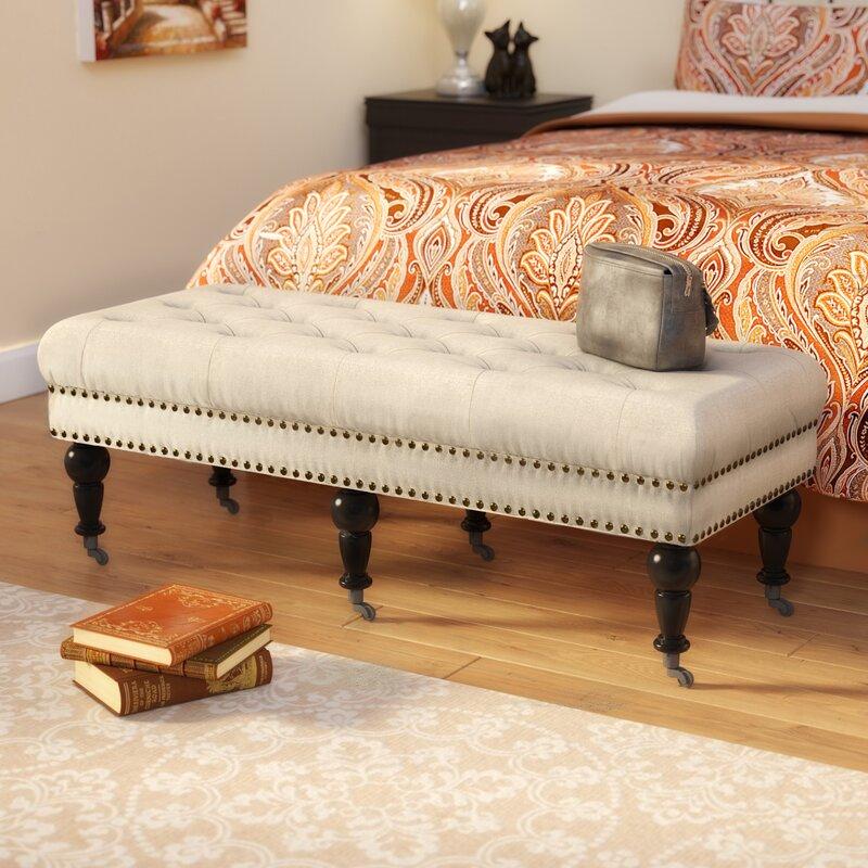 Woodard Upholstered Bench
