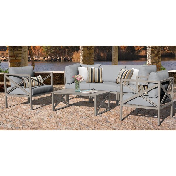 Carlisle 6 Piece Sofa Seating Group with Cushions by TK Classics