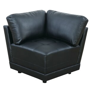 Superbe Chew Stoke Bonded Leather Corner Armchair