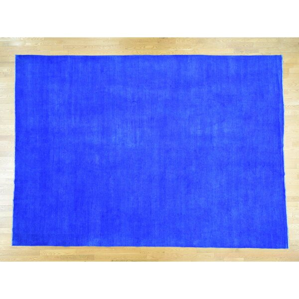 One-of-a-Kind Beaumont Overdyed Handwoven Wool Area Rug by Isabelline