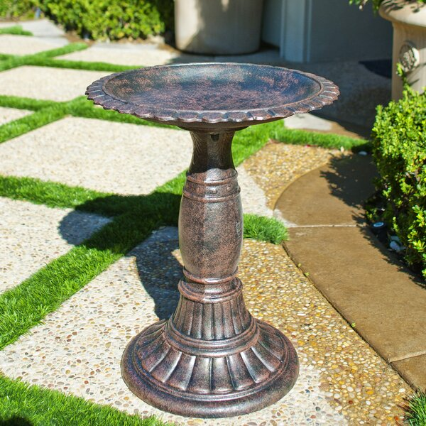 Fiesta Birdbath by Innova Hearth and Home
