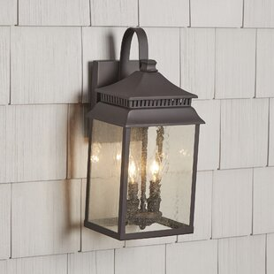 Affordable Briarfield 2-Light Outdoor Wall Lantern By Birch Lane™
