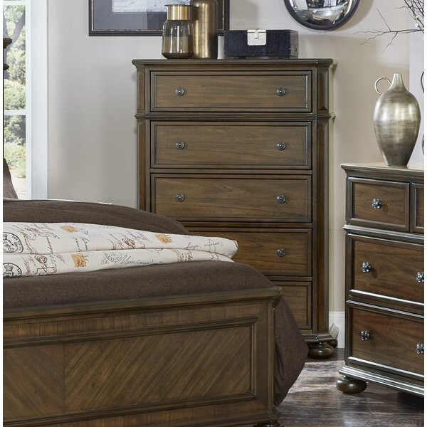 Malik 5 Drawer Chest by Millwood Pines