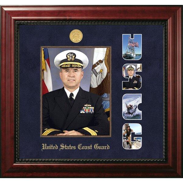 Coast Guard Portrait Executive Picture Frame by Patriot Frames