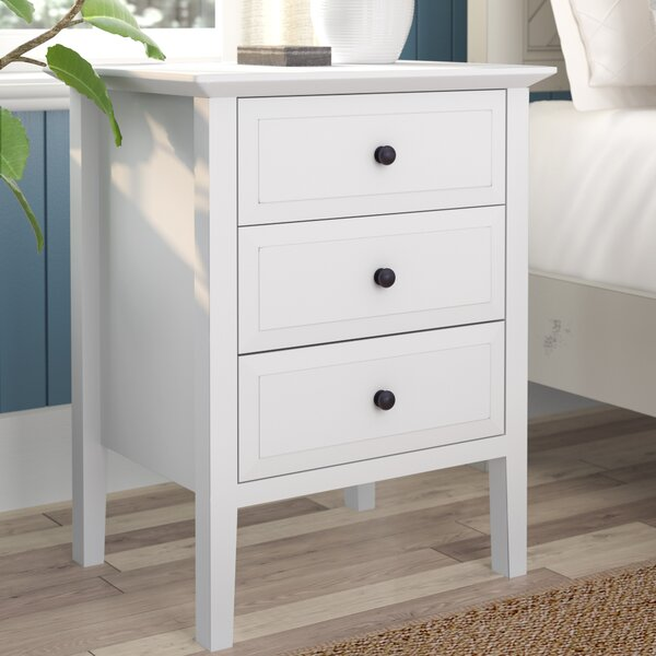 Carpen 3 Drawer Nightstand by August Grove