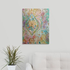 Boho Paisley II by Danhui Nai Graphic Art on Wrapped Canvas by Great Big Canvas