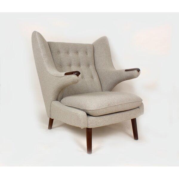 Olsen Wingback Chair by Stilnovo