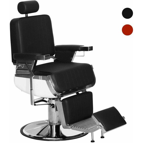 Vintage Barber Heavy Duty Metal Hydraulic Reclining Massage Chair By Symple Stuff