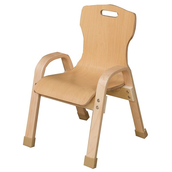 8.5'' Wood Classroom Chair by Wood Designs