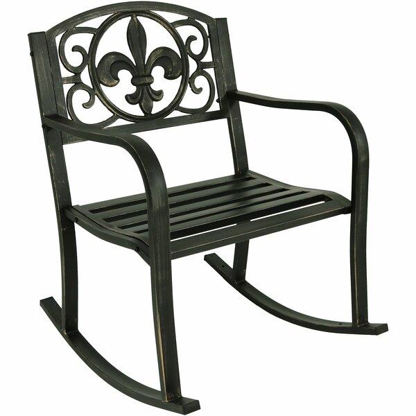 Zelda Patio Rocking Chair by Winston Porter