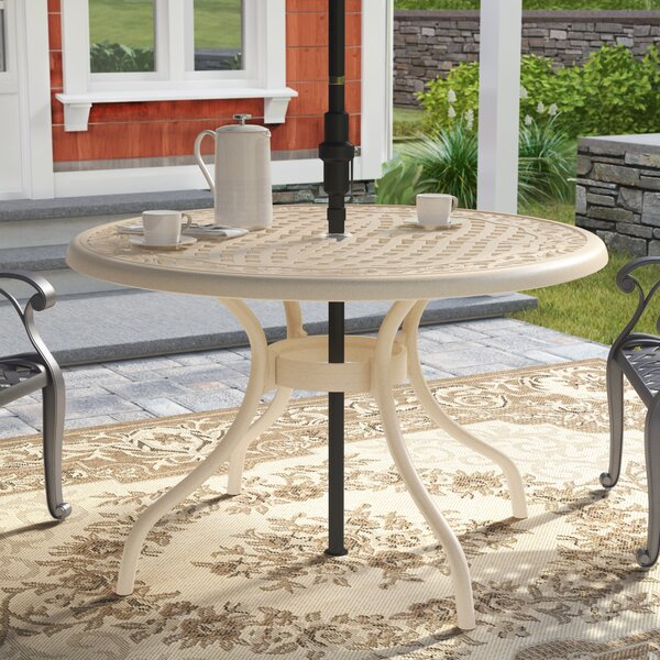 Fason Metal Dining Table by Ophelia & Co.