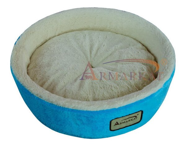 Cat Bed in Sky Blue and Ivory by Armarkat