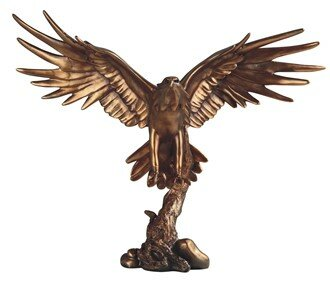 Peebles Eagle Figurine by Loon Peak