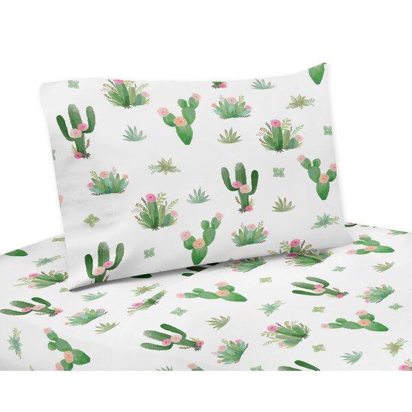 Cactus Floral Sheet Set by Sweet Jojo Designs