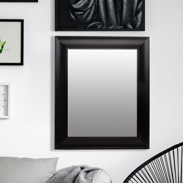 Schuyler Beveled Wall Mirror by Charlton Home