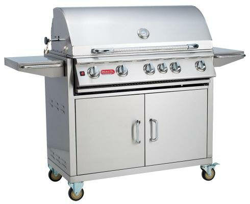 Brahma Cart 5-Burner Propane Gas Grill with Cabinet by Bull Outdoor Products