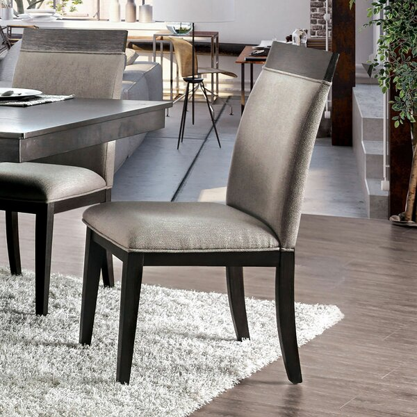 Therrien Upholstered Dining Chair (Set of 2) by Brayden Studio