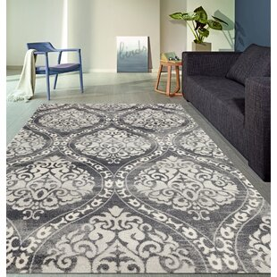 Merveilleux Demonte Charcoal Gray Area Rug