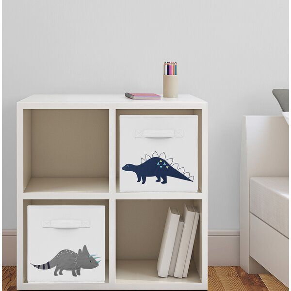 Dinosaur Fabric Storage Cube by Sweet Jojo Designs