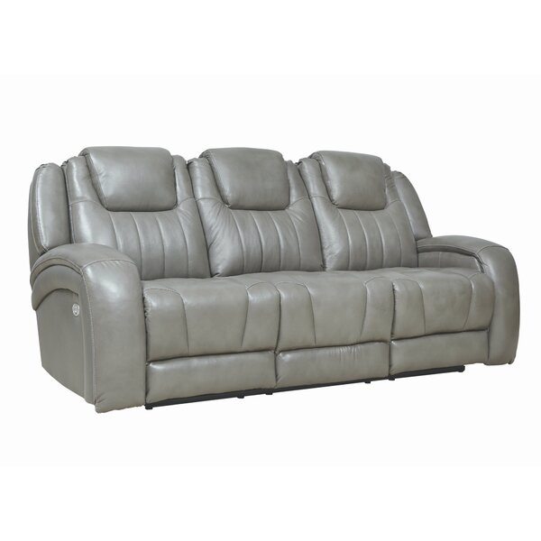 Top Quality Top Shelf Leather Reclining Sofa by Southern Motion by Southern Motion