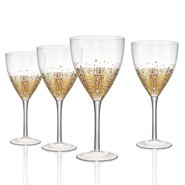 Conner Dessert Wine Glass (Set of 4) by Mint Pantry