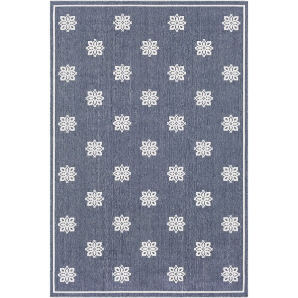 Pearce Charcoal Indoor/Outdoor Area Rug by Charlton Home