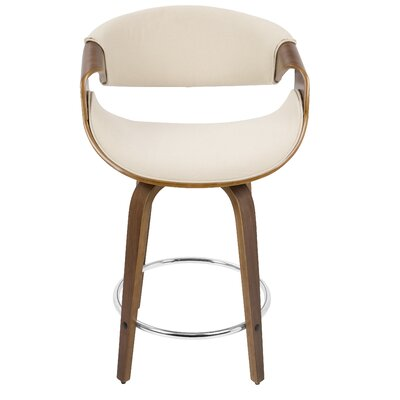 Beige Tan Seat Bar Stools Wayfair Co Uk