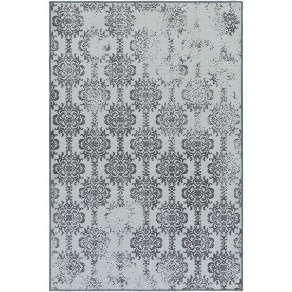 Huntingdon Blue/Gray Area Rug by Gracie Oaks