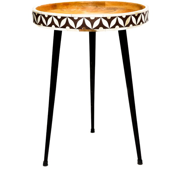 Shoal Cliff End Table by Bungalow Rose