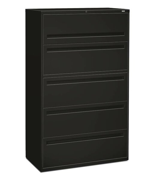 Brigade 700 Series 5-Drawer Vertical Filing Cabinet by HON