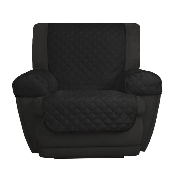 Reversible Microfiber 3 Piece Box Cushion Recliner Slipcover Set by Maytex